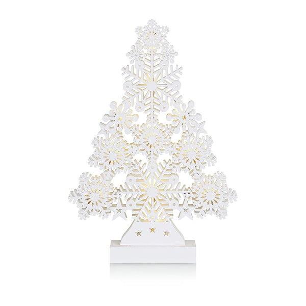 Biała dekoracja świecąca Markslöjd Prince, wys. 39 cm