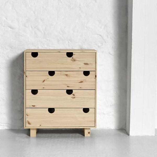 Komoda z 4 szufladami Karup DesignHouse Natural