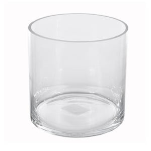 Szklany wazon Dino Bianchi Modena, ⌀15cm