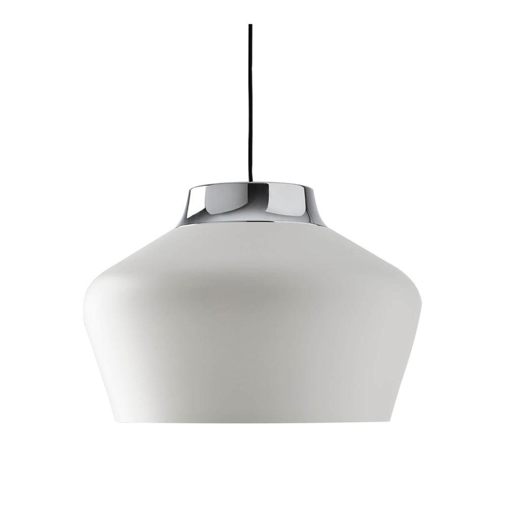 Biała lampa wisząca sømcasa Rafol