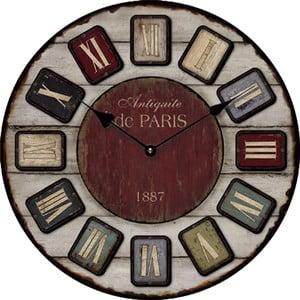 Zegar 1887 Paris, 34 cm