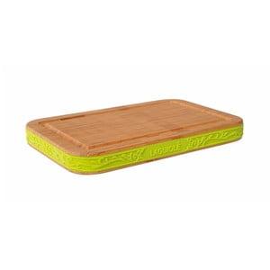 Deska do krojenia z zieloną krawędzią Laguiole Jules