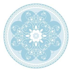 Zestaw 2 mat stołowych Blue Ornament