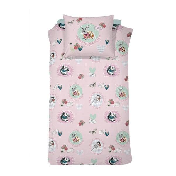 Pościel Bunny Pink, 140x200 cm