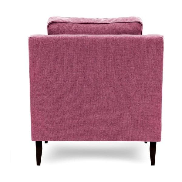 Różowy fotel Vivonita Bond