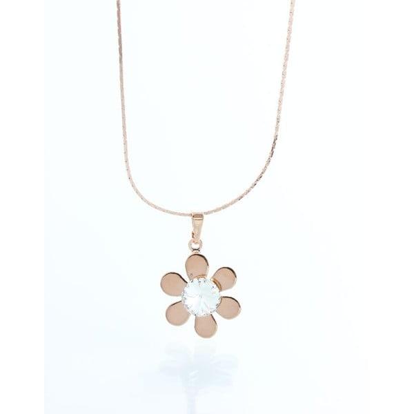 Naszyjnik z kryształami Swarovskiego Yasmine Flower