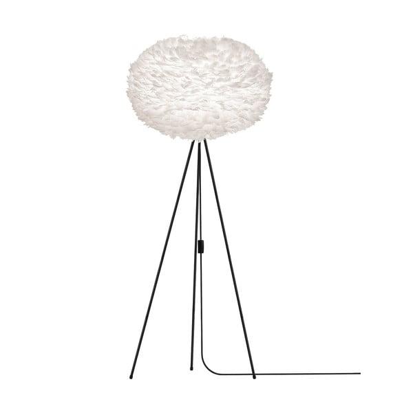 Biała lampa z gęsich piór VITA Copenhagen EOS, Ø75cm