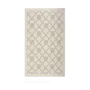 Kremowy dywan bawełniany Oni, 60x90 cm