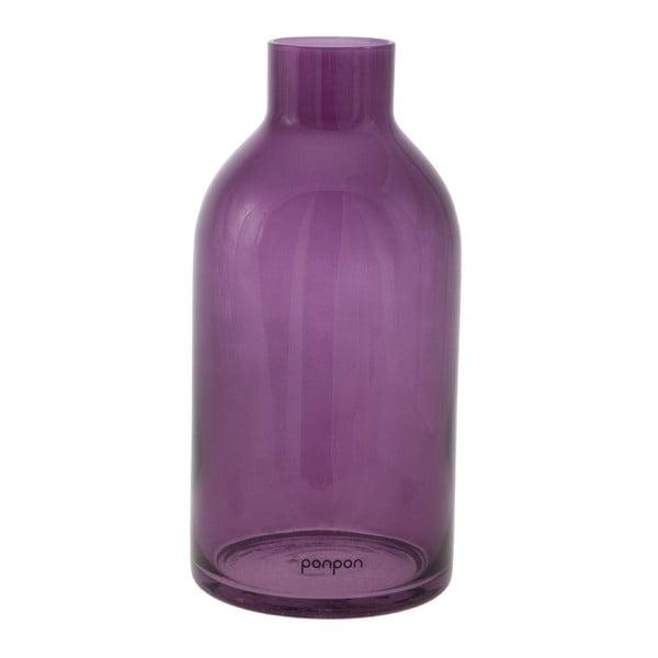 Wazon/świecznik Bottle 25,5 cm, fioletowy