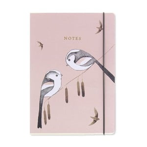 Notes A5 Go Stationery Long Tailed Tits