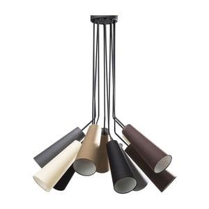 Lampa wisząca z 10 kloszami Kare Design Speaker