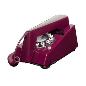 Telefon stacjonarny w stylu retro Trim Plum