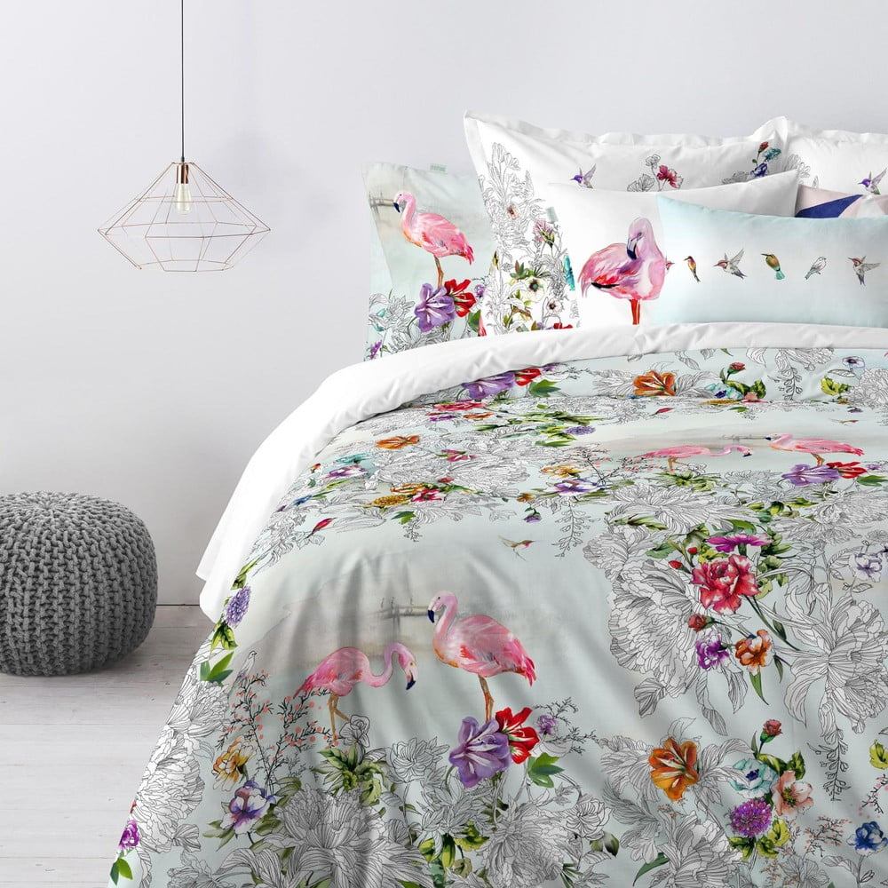 bawe niana poszwa jednoosobowa na ko dr hf living eutony 140x200 cm bonami. Black Bedroom Furniture Sets. Home Design Ideas