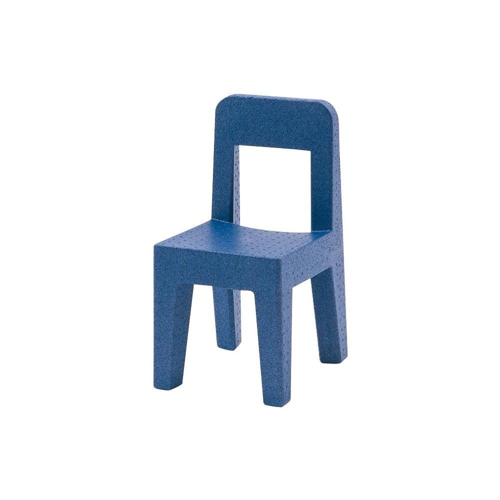 Niebieskie krzesło dziecięce Magis Seggiolina Pop