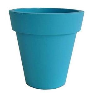 Doniczka Samantha 38x38 cm, niebieska