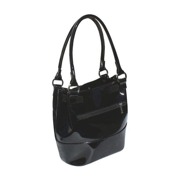 Skórzana torebka Boscollo Black 2436