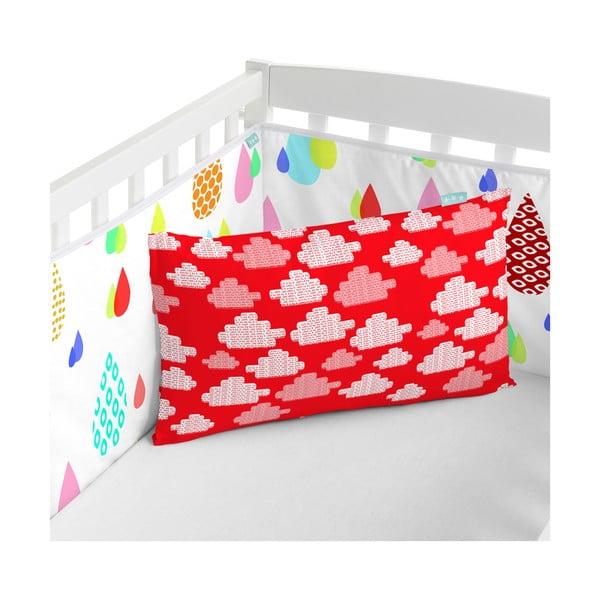 Bawełniany ochraniacz do łóżeczka Mr. Fox Happy Frogs, 210x40 cm