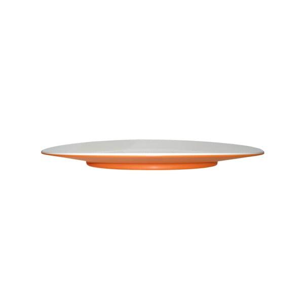 Talerzyk deserowy Entity Orange, 21 cm