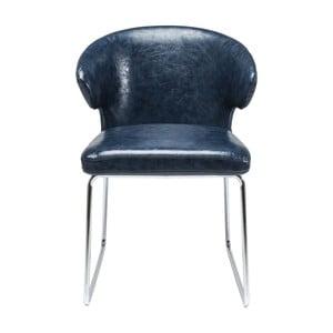 Niebieskie krzesło Kare Design Atomic