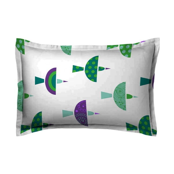 Poszewka na poduszkę Bertel Green, 50x70 cm