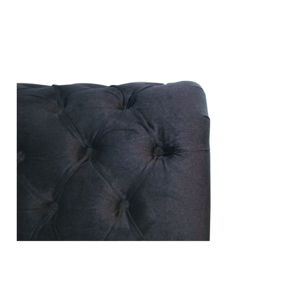 Łóżko Ontario Black, 160x200 cm