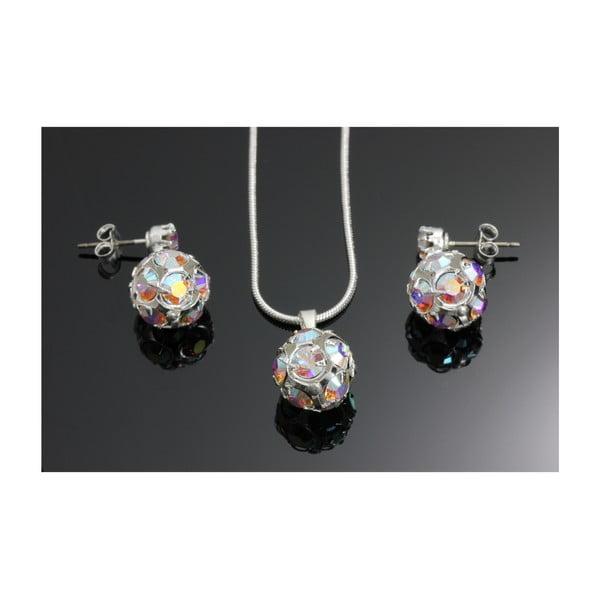 Komplet naszyjnika i kolczyków z kryształami Swarovskiego Yasmine Multi