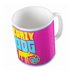 Kubek ceramiczny Crazy Dog, 330 ml