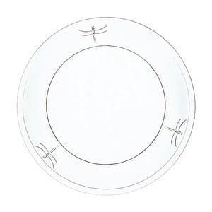 Szklany talerz La Rochère Libellules, ⌀ 25 cm