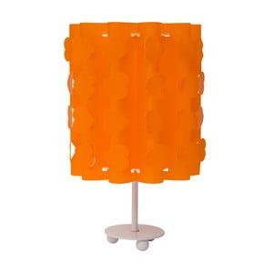 Pomarańczowa lampa stołowa Mauro Ferretti Cuori
