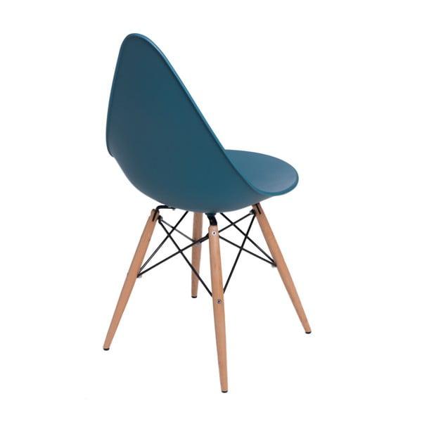 Zestaw 2 niebieskich krzeseł D2 Rush DWS
