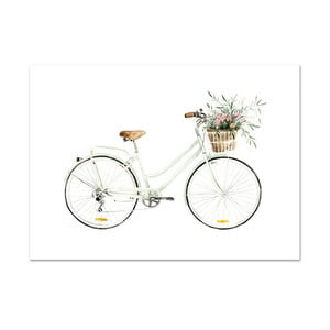 Plakat Leo La Douce Bicycle Love, 42x59,4 cm
