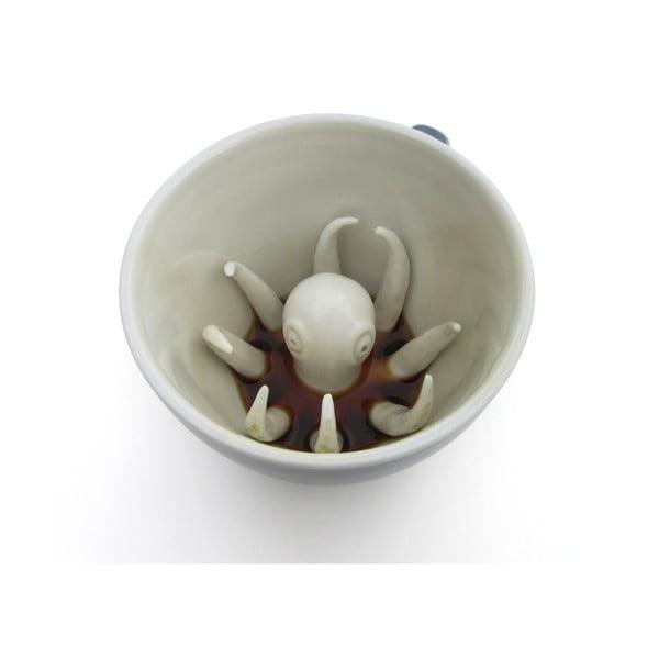 Kubek Octopus, 325 ml, jasnoniebieski