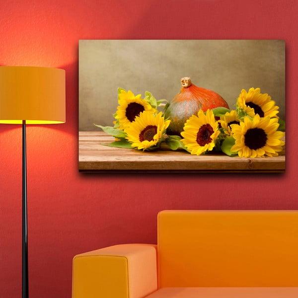 Obraz Słoneczniki, 45x70 cm