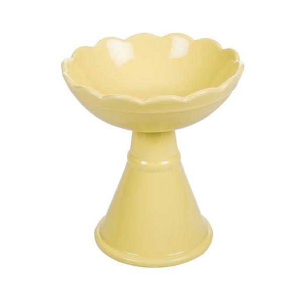 Patera ceramiczna Crayon Yellow