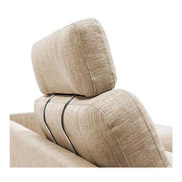 Beżowy zagłówek do sofy Vivonita Harlem