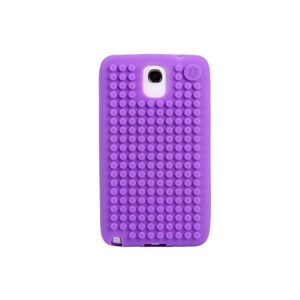 Pikselowe etui na Samsung Note 3, fioletowe