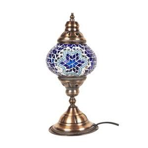 Szklana lampa Homemania Fudżajra, ⌀13cm