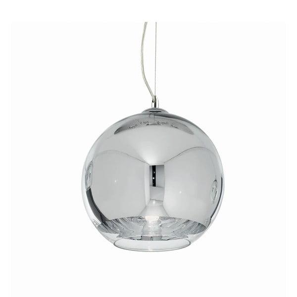 Lampa wisząca Crido Shiny Chrome, 20 cm