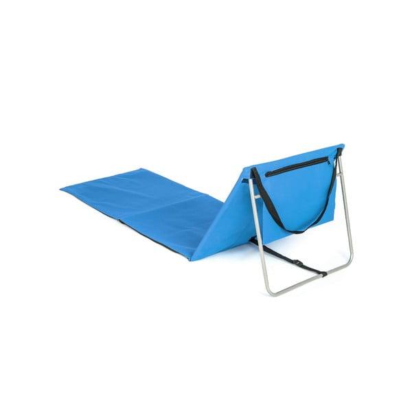 Składana mata plażowa Austin, niebieska