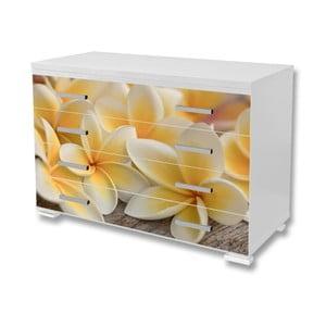 Tapeta samoprzylepna na meble Dimex Kwiaty, 125x85cm