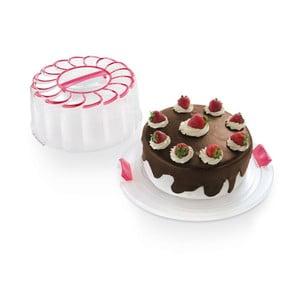 Pojemnik na tort Snips Cake Pink, 28 cm