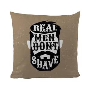 Poduszka Black Shake Real Man, 50x50 cm