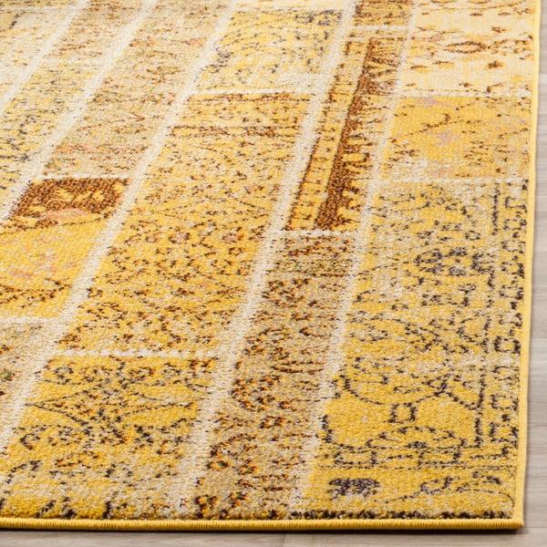 Żółty dywan Safavieh Effi, 154x231 cm