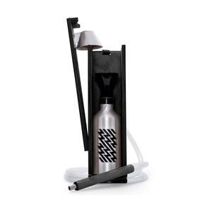 Designerska fajka wodna Hekkpipe Active, czarna