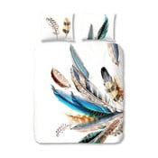 Pościel bawełniana Müller Textiels Color Feather, 200 x 200 cm