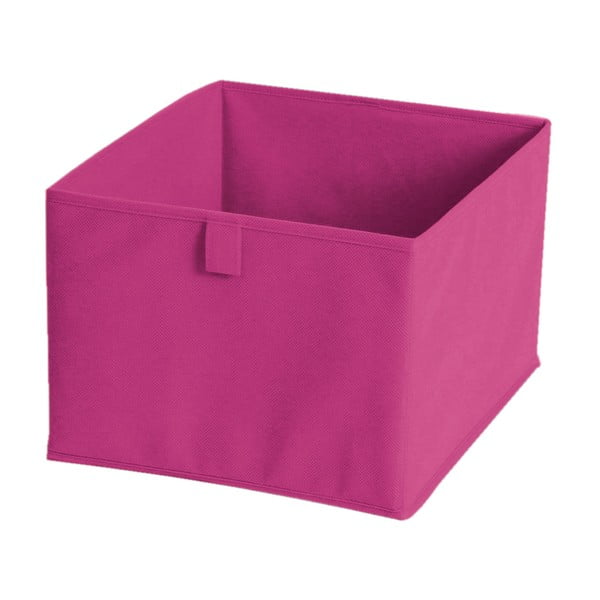 Różowe pudełko materiałowe Jocca, 30x30 cm