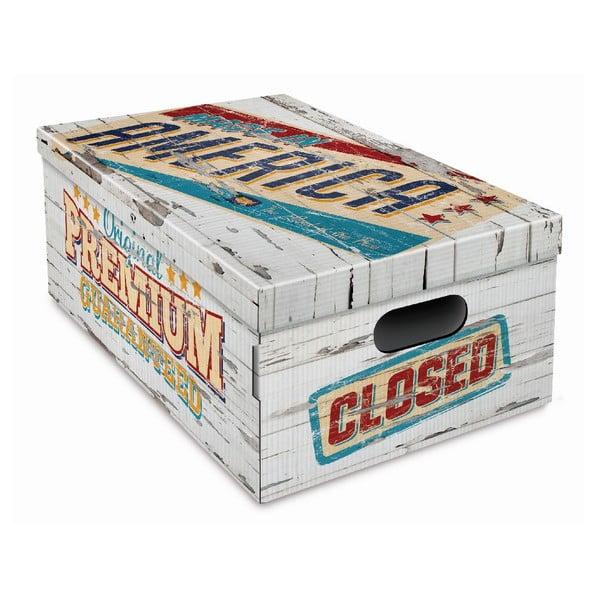 Pudełko Vintage 47x37,5x24 cm