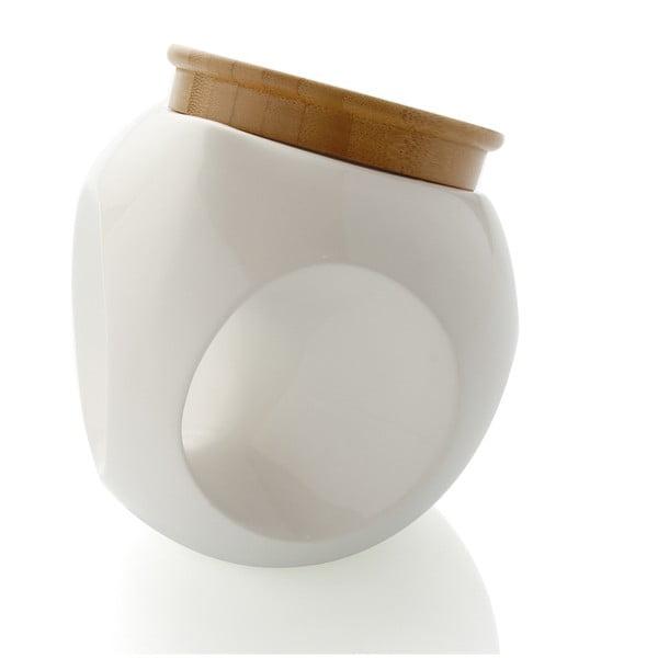 Porcelanowy pojemnik Bowling, 13 cm