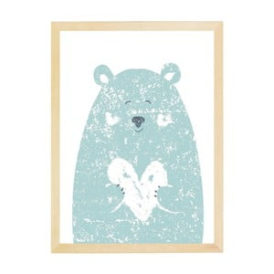 Plakat Nord & Co Small Bear, 21x29 cm