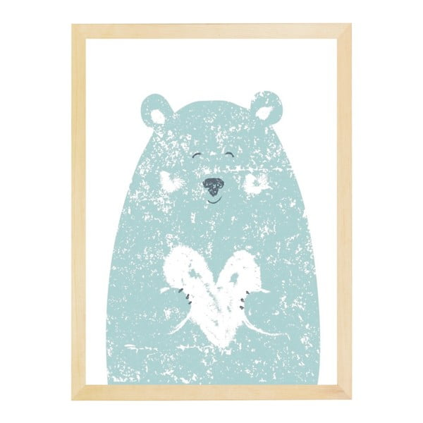 Plakat Nord & Co Small Bear, 30x40 cm